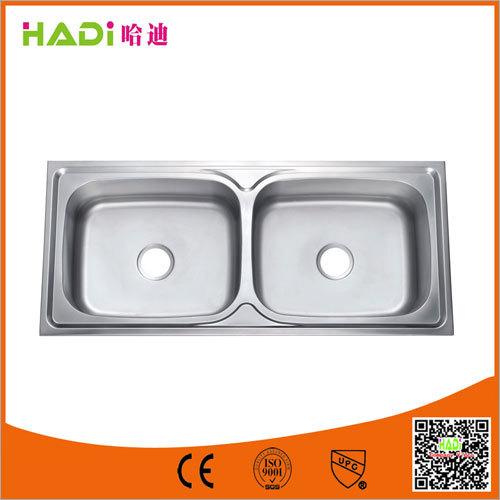 Double Bowl SS Undermount Kitchen Sink