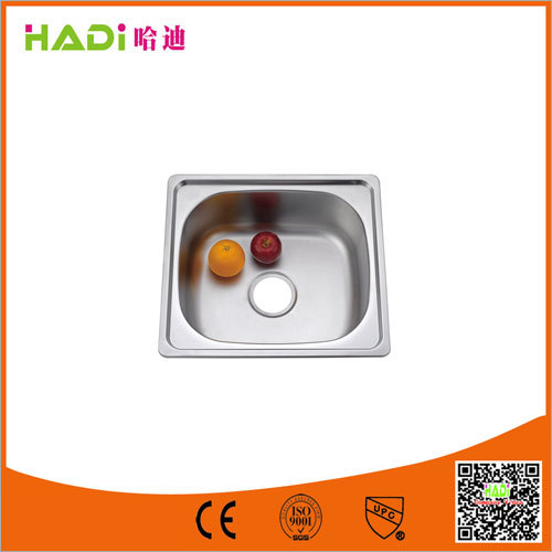 Single Bowl Stainless Steel Sink Without Drain