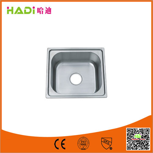 Single Bowl Undermount Sink Without Drain Board