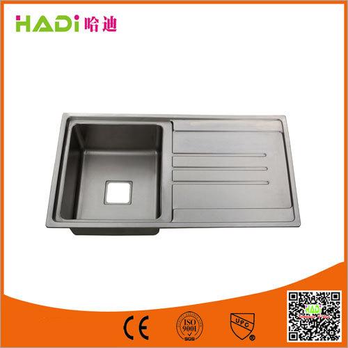 Undermount Single Bowl Sink With Drain Board