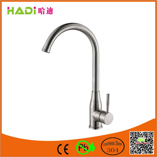 Single Handle Stainless Steel Kitchen Sink Faucets