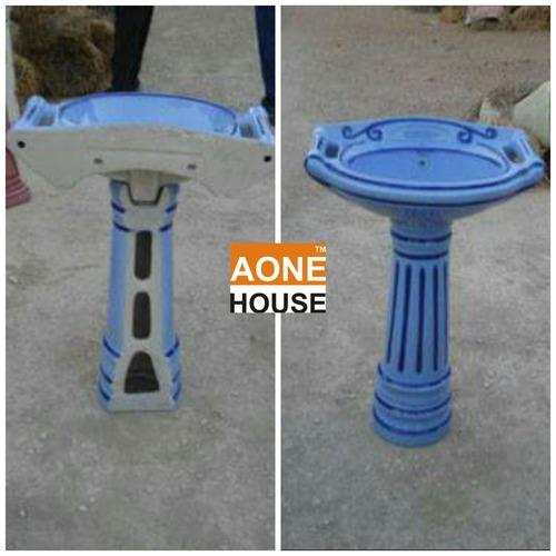 Rustic Color Design Wash Basin Pedestal