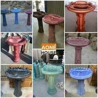Rustic Color Design Wash Basin Pedestal