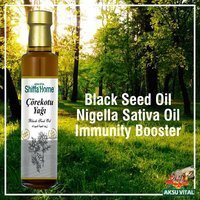 Black seed oil 250 ml glass bottle Kalonji Nigella
