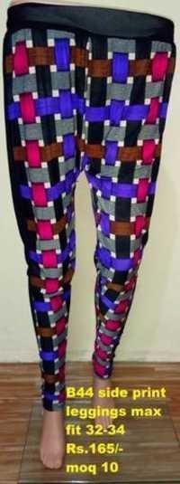 Side print leggings