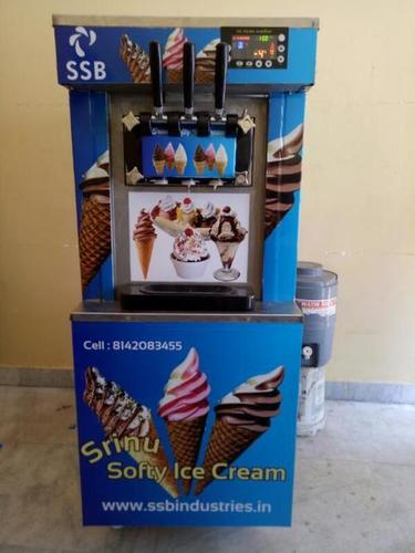 Flavour Softy Making Machine