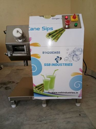 Sugarcane Juice Machine With Instant Chiller
