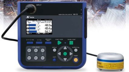 3 axis vibration level meter