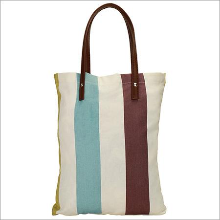 Bold Stripe Khola Bags