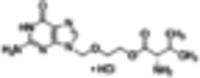 Valaciclovir hydrochloride (anhydrous)