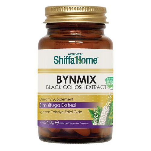 BYNMIX Special Formula for Women Menstrual Period Regulation Capsule Containing Black Cohosh Extract