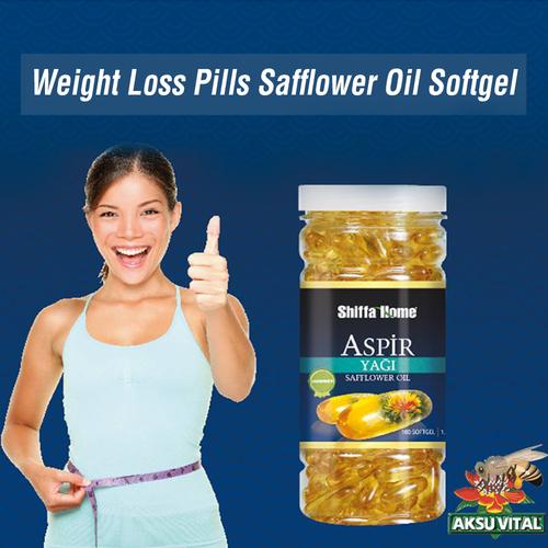 Safflower oil capsules slim up diet pill