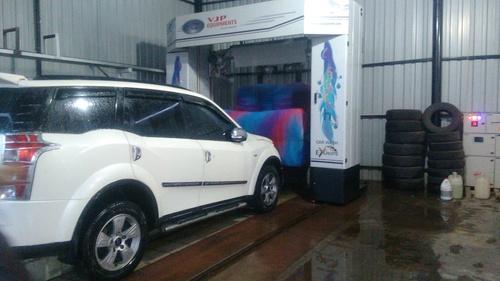 Semi Automatic Car Wash Machine