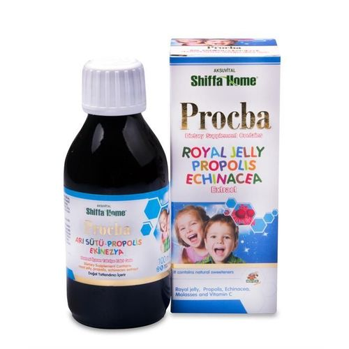 PROCBA Vitamin C Syrup ,Honey + Propolis Extract + Echinacea Extract Vitamin Syrup