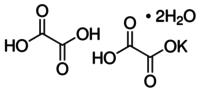 Potassium tetraoxalate dihydrate