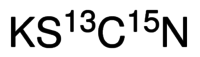 Potassium thiocyanate-13C,15N