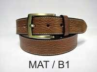 Carving Leather Belt