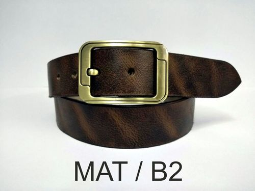 Leather Two Tone Belt