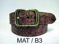 Leather Cracker Belt