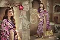 Ikkat Printed Saree