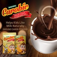 CAROBIC Carob Fruit Powder drink flavoured instant drink with milk