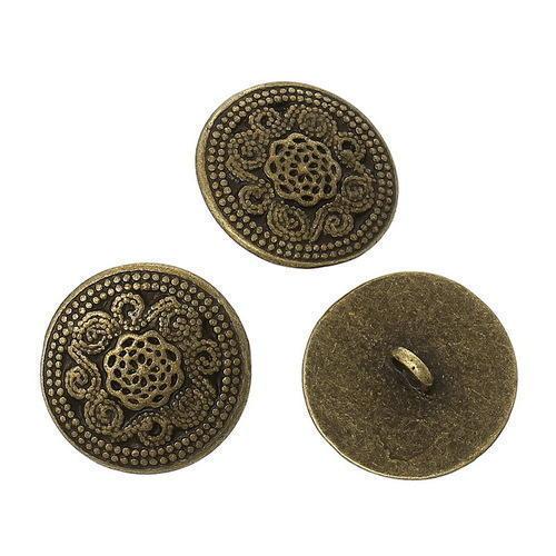 Copper Blazer Button