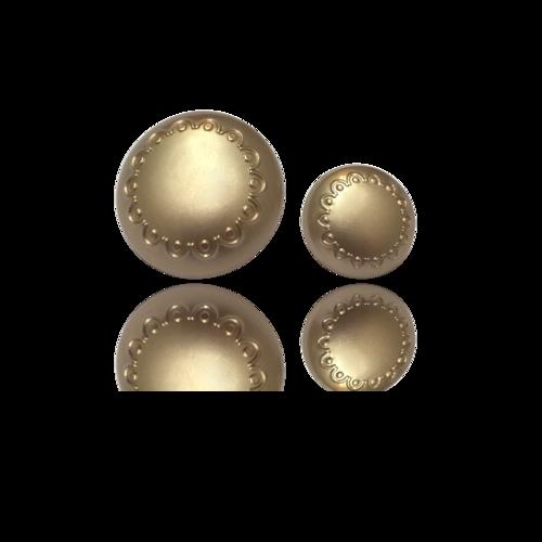 Circular Golden Button