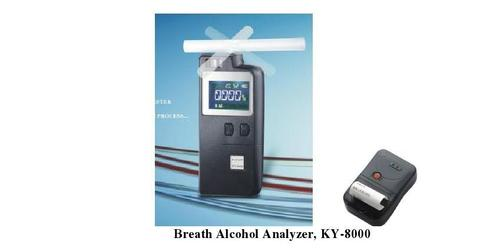Breath Analyzer KT-8000P, Bluetooth Printer