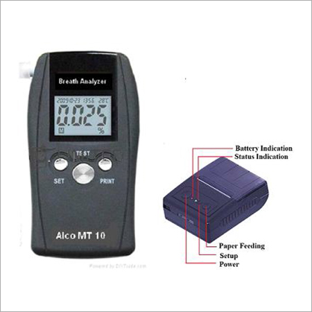 Alcohol Breath Analyzer AlcoTest-10P with Printer