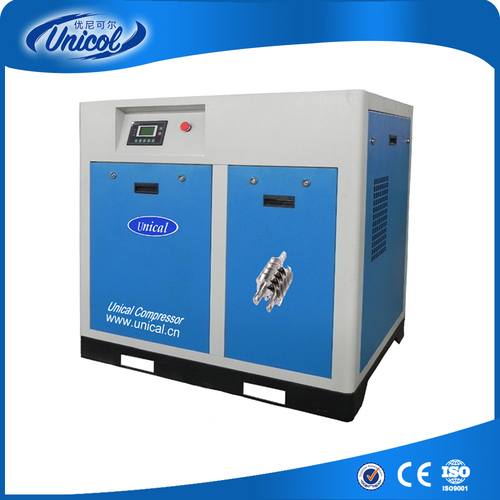75HP Belt Transmission Screw Air Compressor