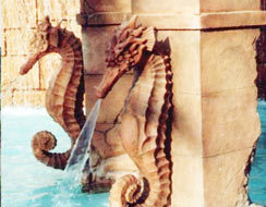 GRC Decorative Fountain