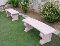 GRC Garden Bench
