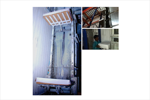Cartons Lifting Elevators