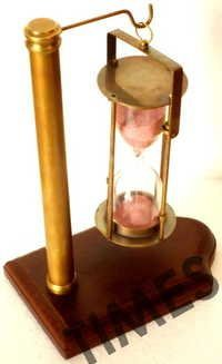 Antique Hanging Sand Timer Clock