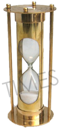 Brass Nautical Sand Timer
