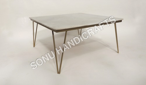 Iron Marble Table