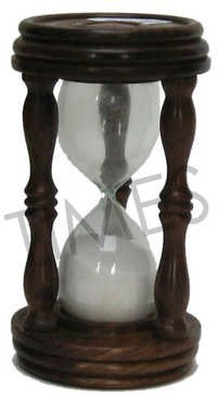 Antique Wooden Sand Timer