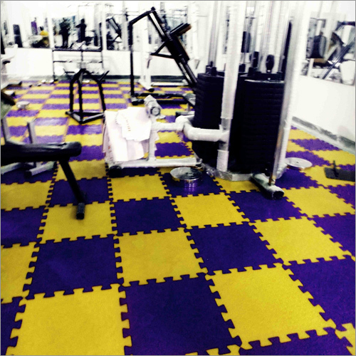 Rubberized PVC Floor Tiles