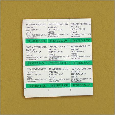 PVC Printed Stickers