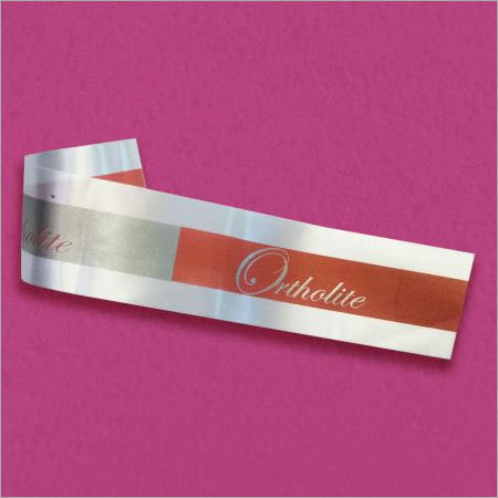Fabric Roll Label