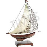Nautical Wood Ship Model