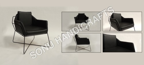 Iron Leather chair