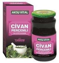 Yarrow Milfoil Paste 450 gr Honey Herbs Mix Product