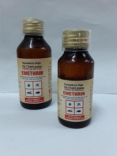 EMETHRIN 1% (ECTOPARACIDICALS)