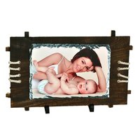 Sublimation Rock Photo With Wooden Frame
