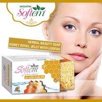 Loofah SoapBeauty soap Honey Royal Jelly Bath Soap