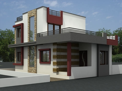 Exterior Elevation House Designing