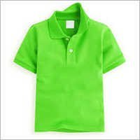 Kids Collar Cotton T-shirts