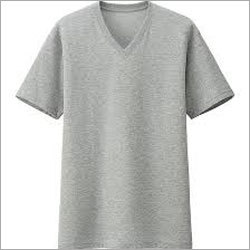 Men V Neck Cotton T-shirts