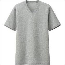 Men V Neck Cotton T-shirts